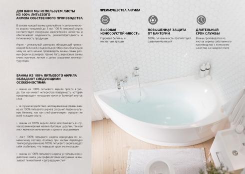 Ванна акриловая 1MarKa - MARKA ONE CLASSIC 170x70