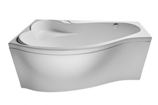 Ванна акриловая 1MarKa - MARKA ONE Gracia (Грация) 160x95 левая