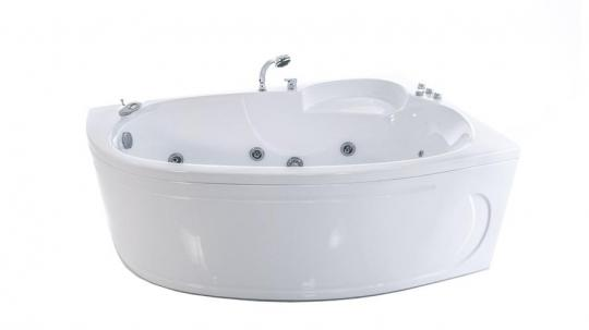 Ванна акриловая Тритон Николь 160x100x63 левая на каркасе