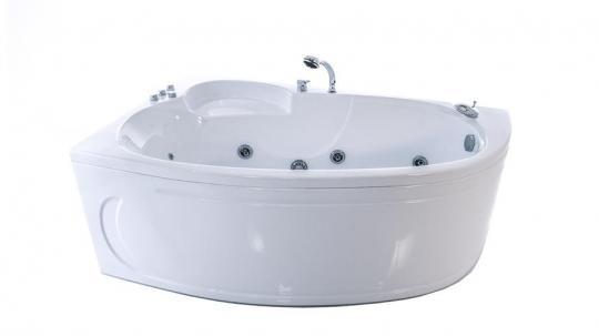 Ванна акриловая Тритон Николь 160x100x63 правая на каркасе