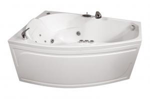 Ванна акриловая Тритон Бриз 150x95x67 правая на каркасе