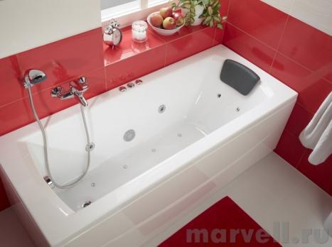 Ванна акриловая SANTEK МОНАКО XL 170x75 белая