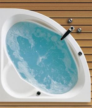 Ванна акриловая SANTEK КАРИБЫ 140х140 белая