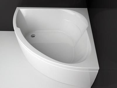 Ванна акриловая Aquanet Bali 150x150