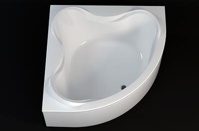 Ванна акриловая Aquanet Flores 150x150