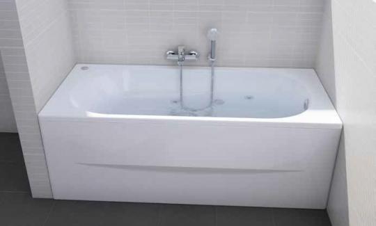 Ванна акриловая ROCA Genova-N 160x70 ZRU9302973 белая