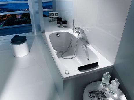 Ванна акриловая ROCA Sureste 150x70 ZRU9302778 с ручками белая