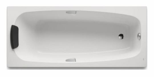 Ванна акриловая ROCA Sureste 160x70 ZRU9302787 с ручками белая