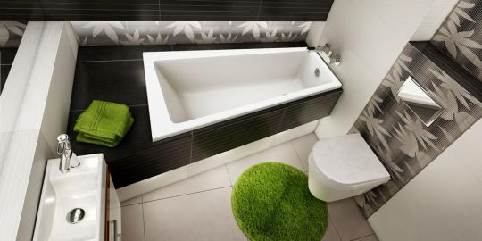 Ванна акриловая Excellent Ava Comfort 150х80, левая