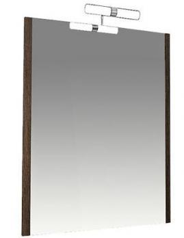 Зеркало ТРИТОН Эко wood-50 дуб темный