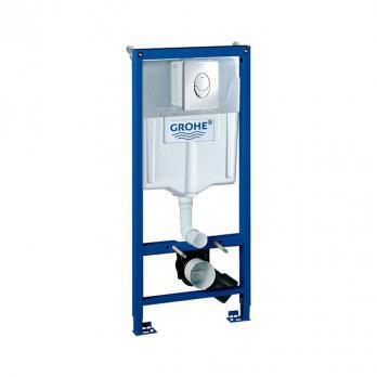 Инсталляция Grohe Rapid SL 38721001 3 в 1 для подвесного унитаза