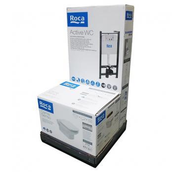 Комплект инсталляции ROCA DAMA SENSO ПЭК 893104090 сиденье микролифт