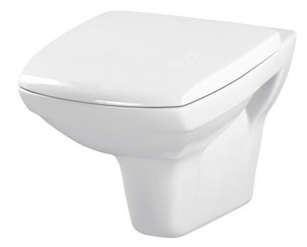 Унитаз подвесной безободковый Cersanit Carina Clean ON с сиденьем микролифт SoftClose