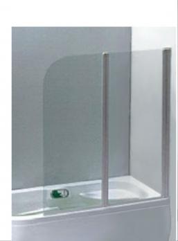 Шторка для ванной 1Марка HX-121 120x138 прозрачное стекло