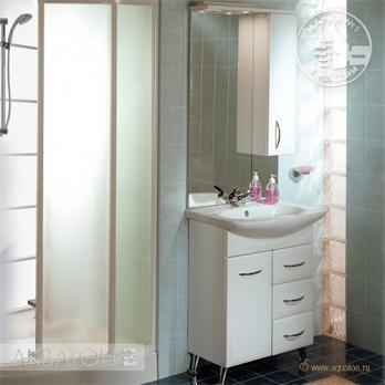 Шкаф-зеркало Акватон - МАРСИЯ 67 правый (1A007502MS01R)