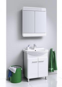 Зеркальный шкаф подвесной AQWELLA - Corsica 60 (Kor.04.06)