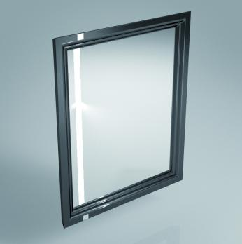 Зеркало Kerama Marazzi - Pompei 60 (Po.mi.60\BLK)