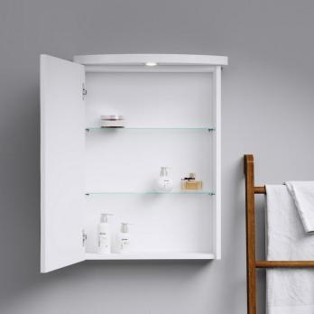Зеркальный шкаф подвесной AQWELLA - Ultra Luxe 55 (Ul-l.04.05.G)