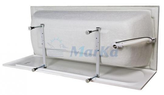 Ванна акриловая 1Marka-MARKA ONE Modern (Модерн) 180x75 белая