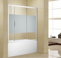 Шторка для ванны Aquanet Practic AE10-B-160H150U-CP, прозрачное стекло