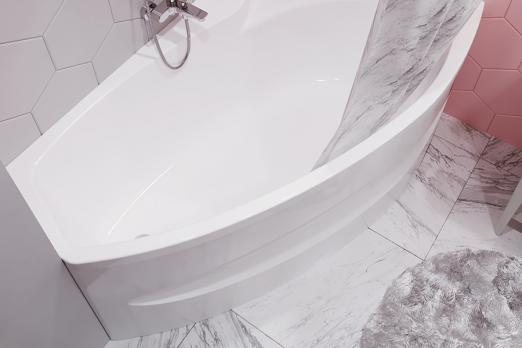 Ванна акриловая Тритон 1Acreal Barcelona 170x94(100)x72 левая на каркасе