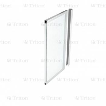 Шторка для ванны Тритон торцевая 70 стекло Аква