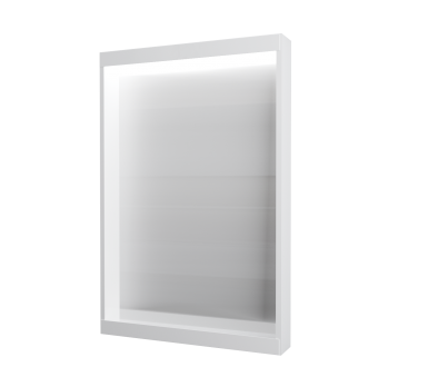 Зеркало Aris 60 Белый глянец