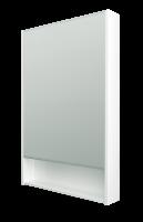 Зеркало-шкаф Mira 60 Белый глянец