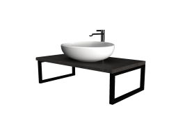 Столешница GRUNGE LOFT 100 Бетон темно-серый