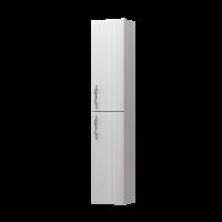 Пенал Amethyst 30П 2Д White L вогнутый