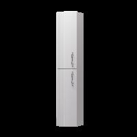 Пенал Amethyst 30П 2Д White R выпуклый